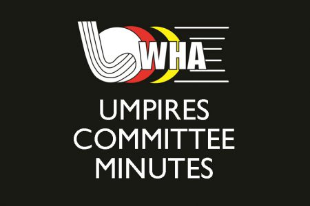 Minutes of Umpires Meeting 10 March 2020