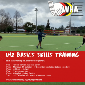 U12 Basic Skills Training 2020
