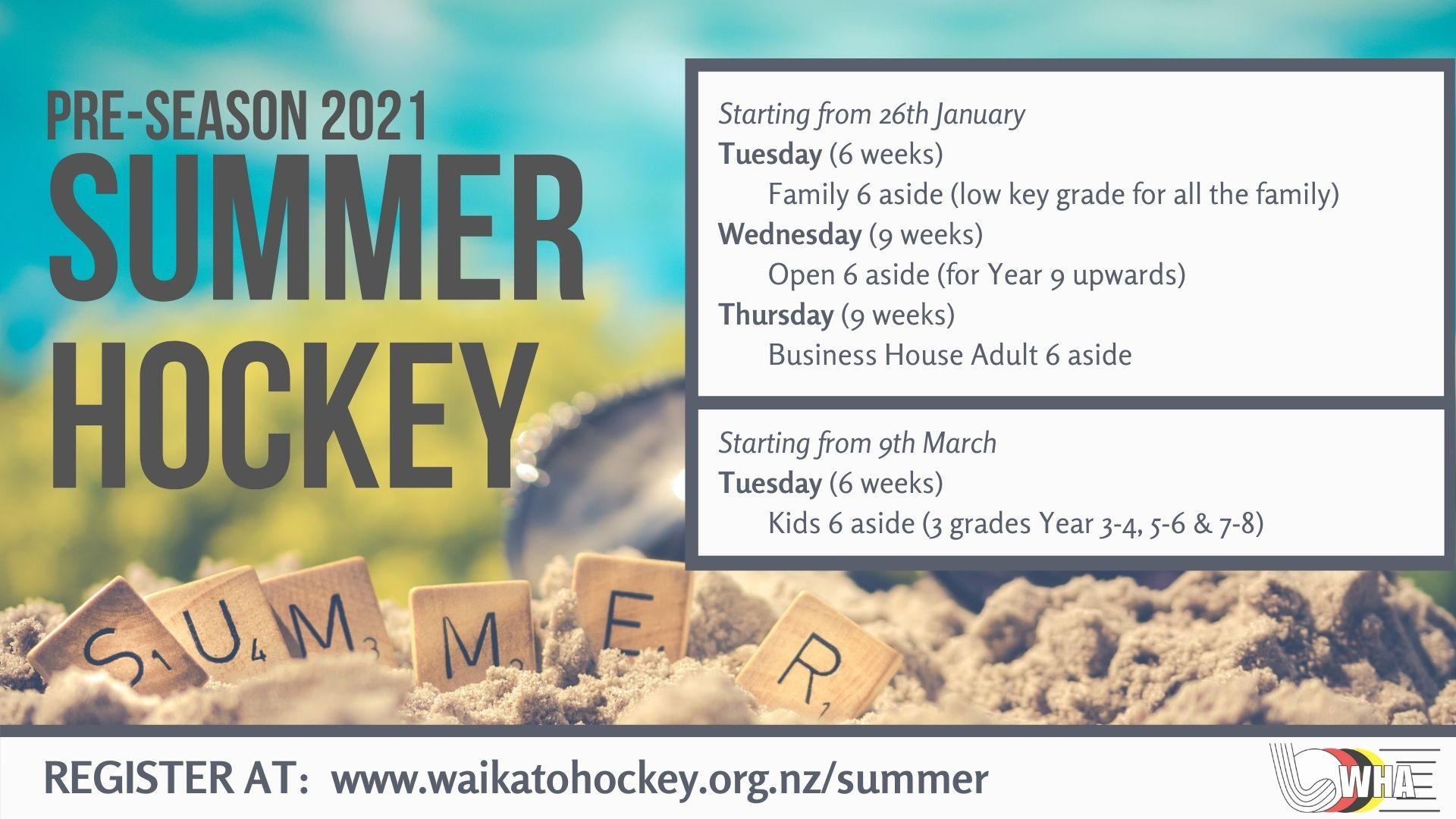 Summer Hockey Pre-Season 2021