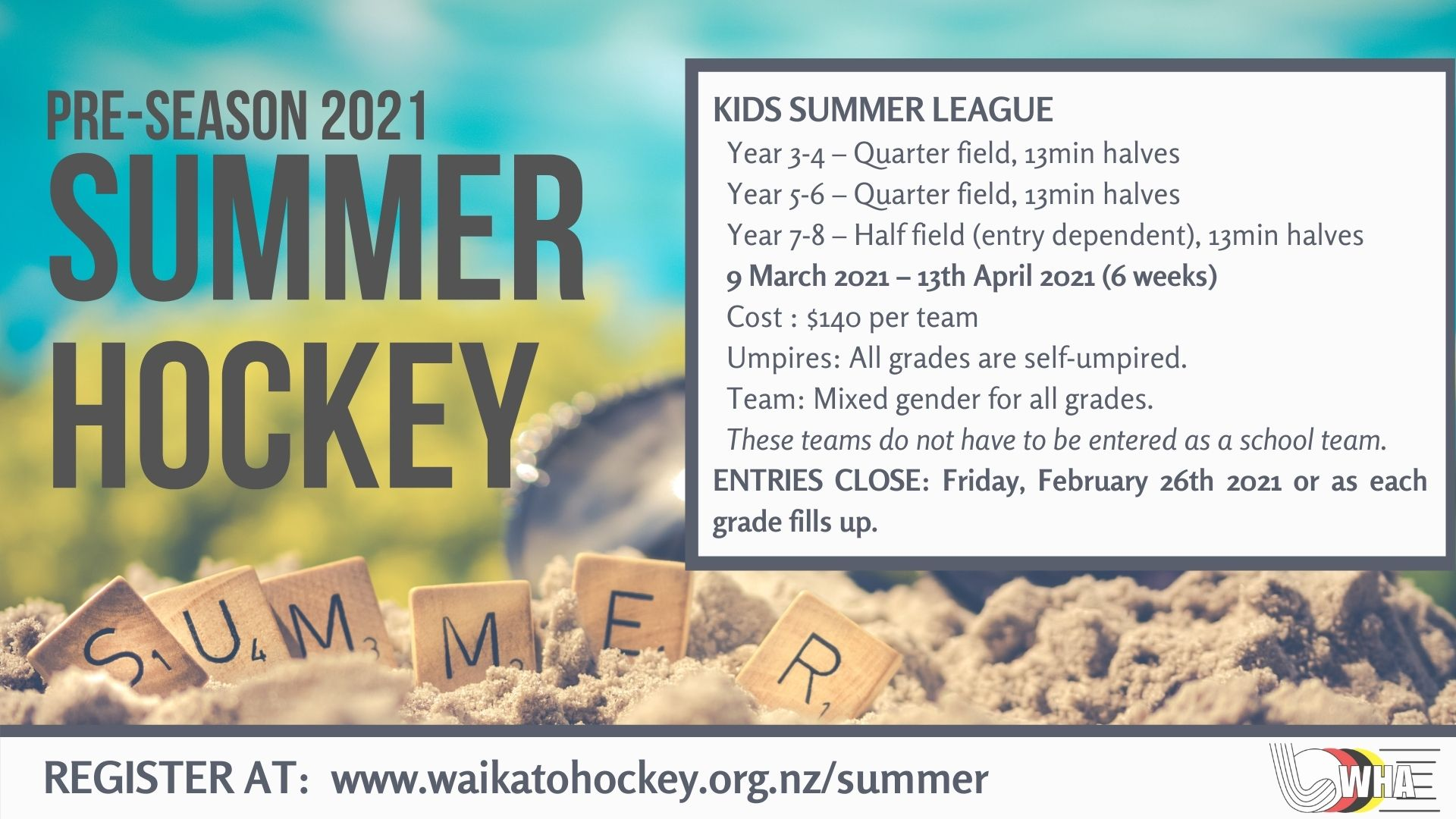 Kids Summer Hockey 2021