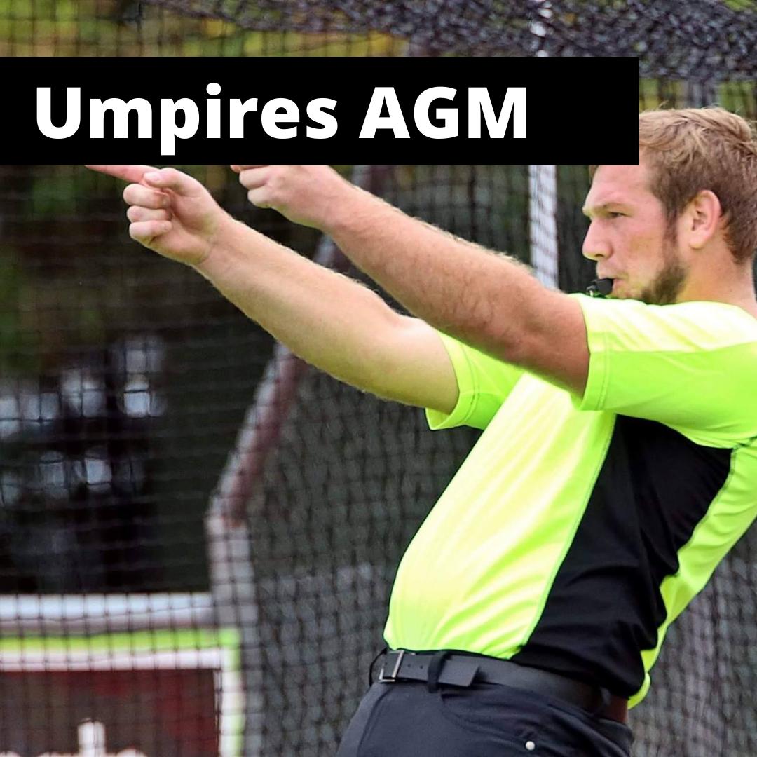 Umpires AGM