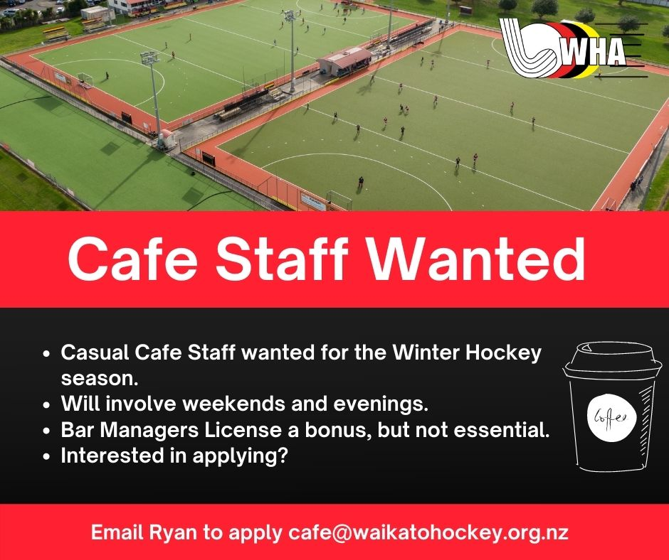 Cafe Staff Wanted