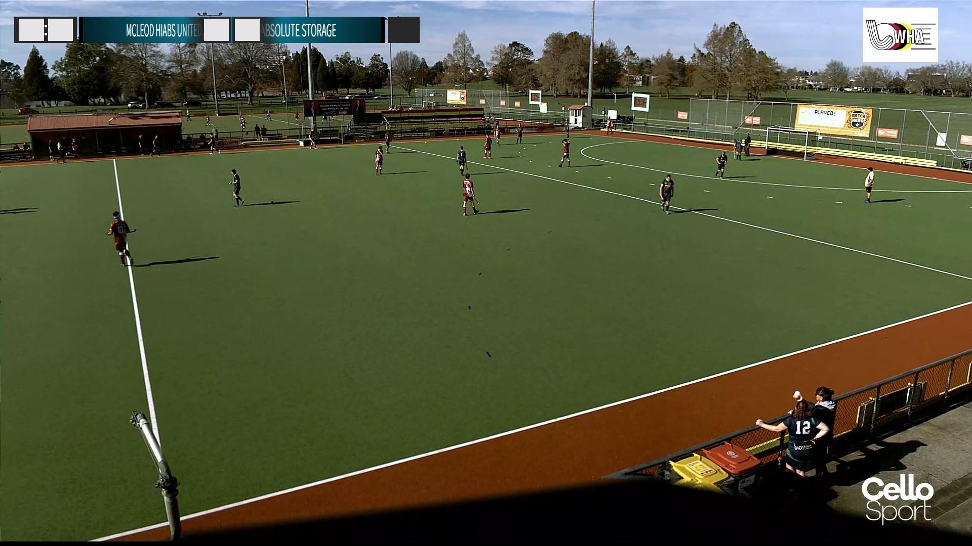 Live-Streaming is starting at Waikato Hockey