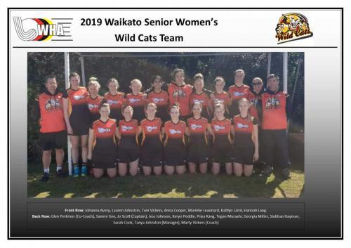 2019 senior womens wildcats team