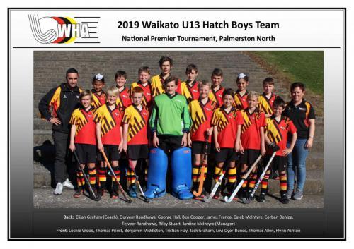 2019 u13 hatch boys team